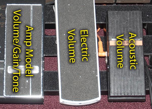 HD 500 Expression Pedal, VP Jr. Volume Pedal, & Old Korg Expression Pedal