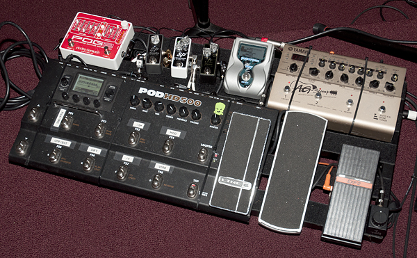 Pedalboard as of 12/4/2013